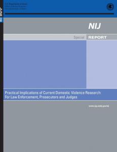 NIJ report